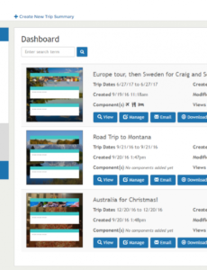 editable travel itinerary template software for travel agencies travel agent itinerary template pdf