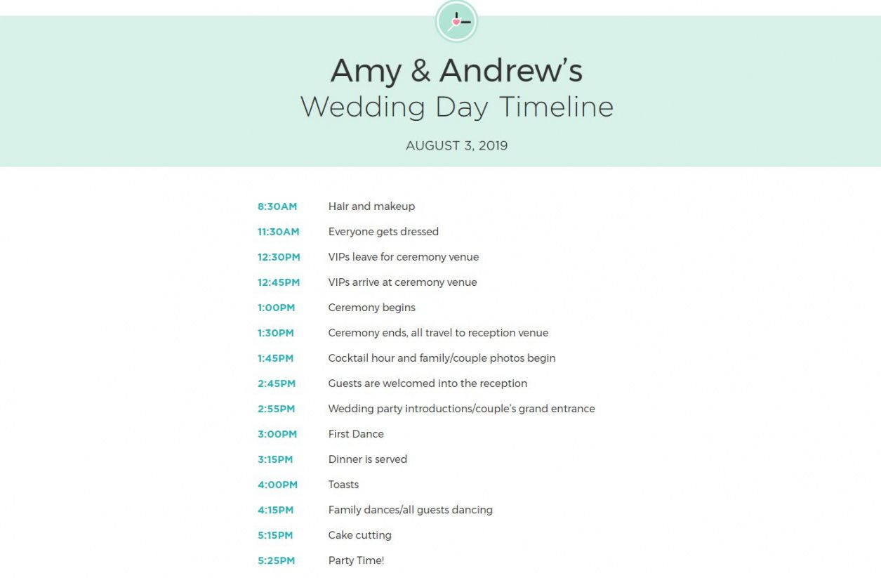 free free wedding itinerary templates and timelines wedding party itinerary template excel
