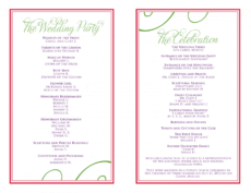 free wedding itinerary templates free  wedding reception wedding party itinerary template