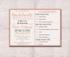 sample bachelorettepartyweekendinvitationandby bachelorette weekend itinerary template doc