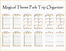 sample image result for disney world itinerary template  itinerary disney world itinerary template example