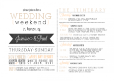 sample itinerary template for wedding guests   their itinerary destination wedding weekend itinerary template doc