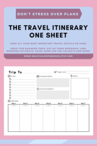 sample travel itinerary template  family travel planner vacation itinerary planner template