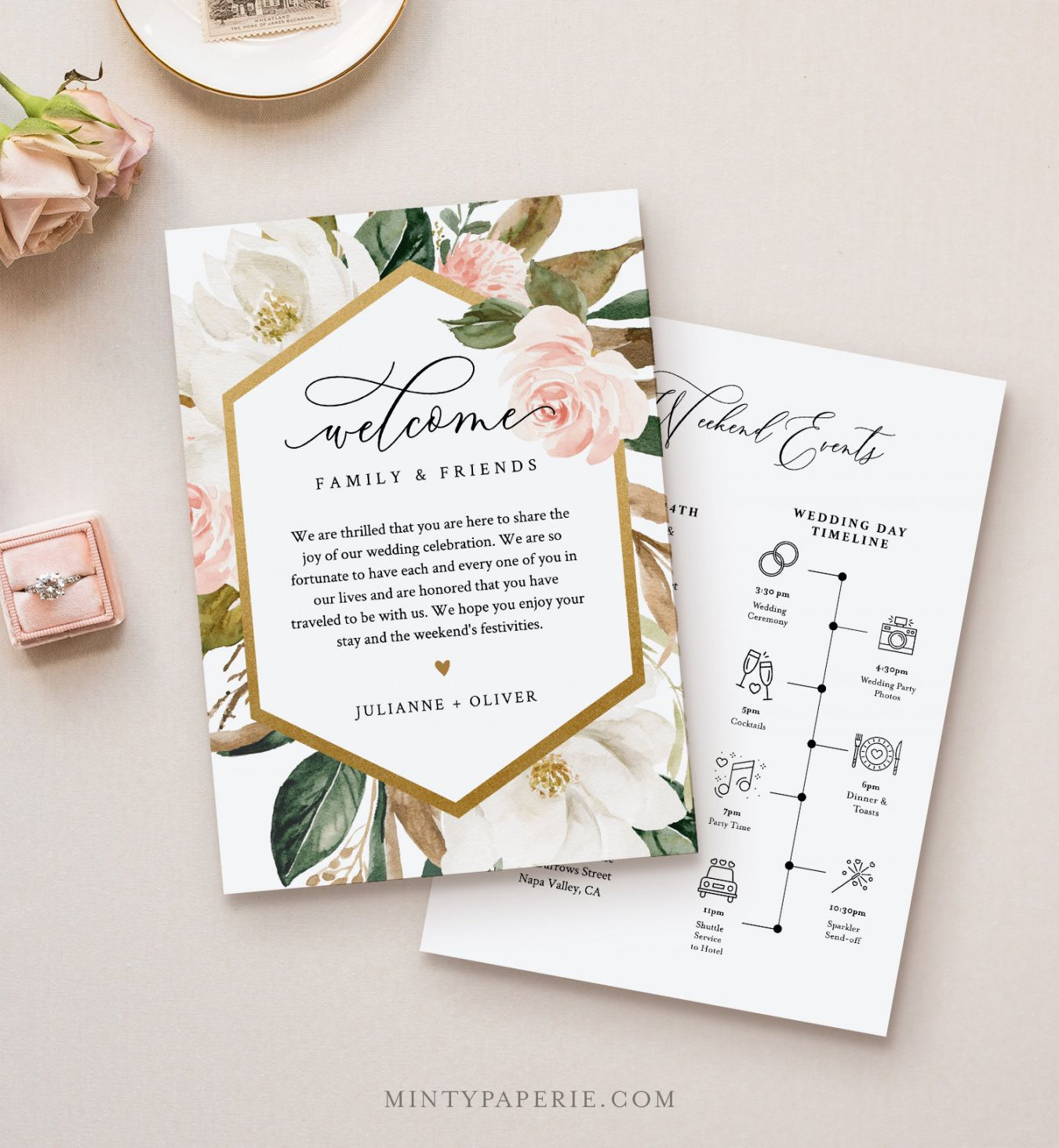sample wedding welcome letter & itinerary template order of wedding welcome bag itinerary template excel