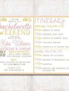template bachelorette party agenda template zoom free bachelorette weekend itinerary template pdf
