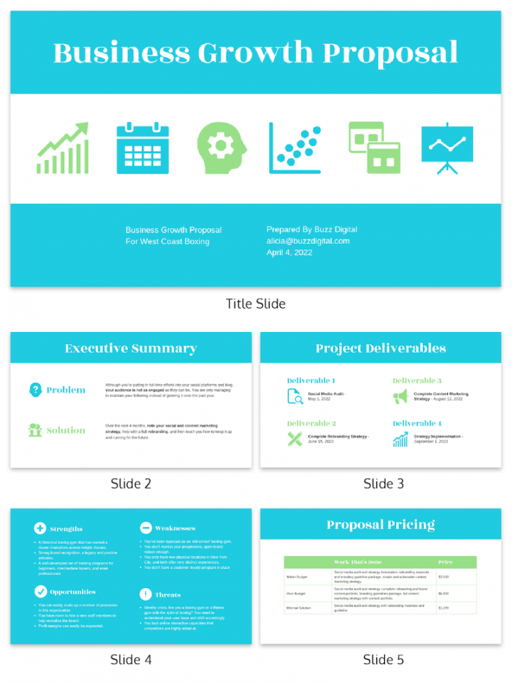31 consulting proposal templates to close deals  venngage brand strategy proposal template