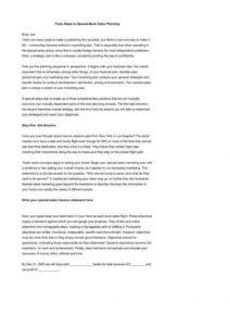 5 professional marketing plan templates  free & premium marketing plan proposal template excel
