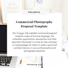 editable commercial photography proposal template photography bid proposal template example