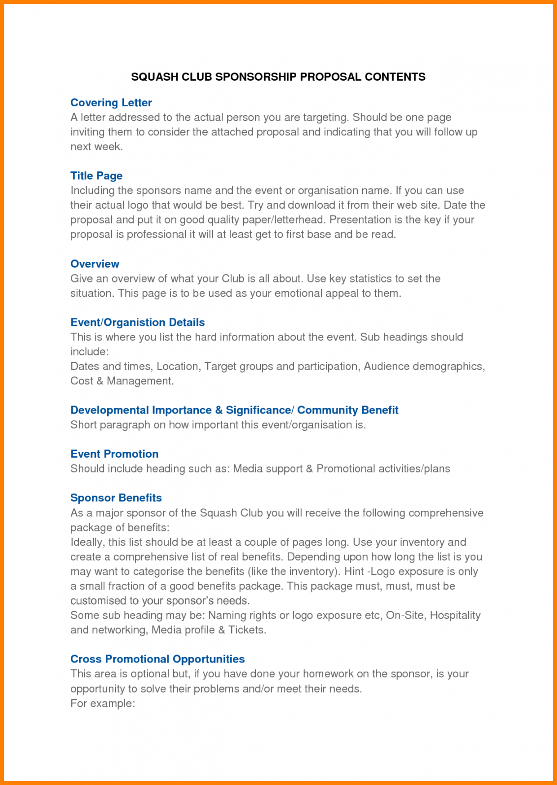 editable free event proposal template pdf sample management ppt best event sponsorship proposal template word