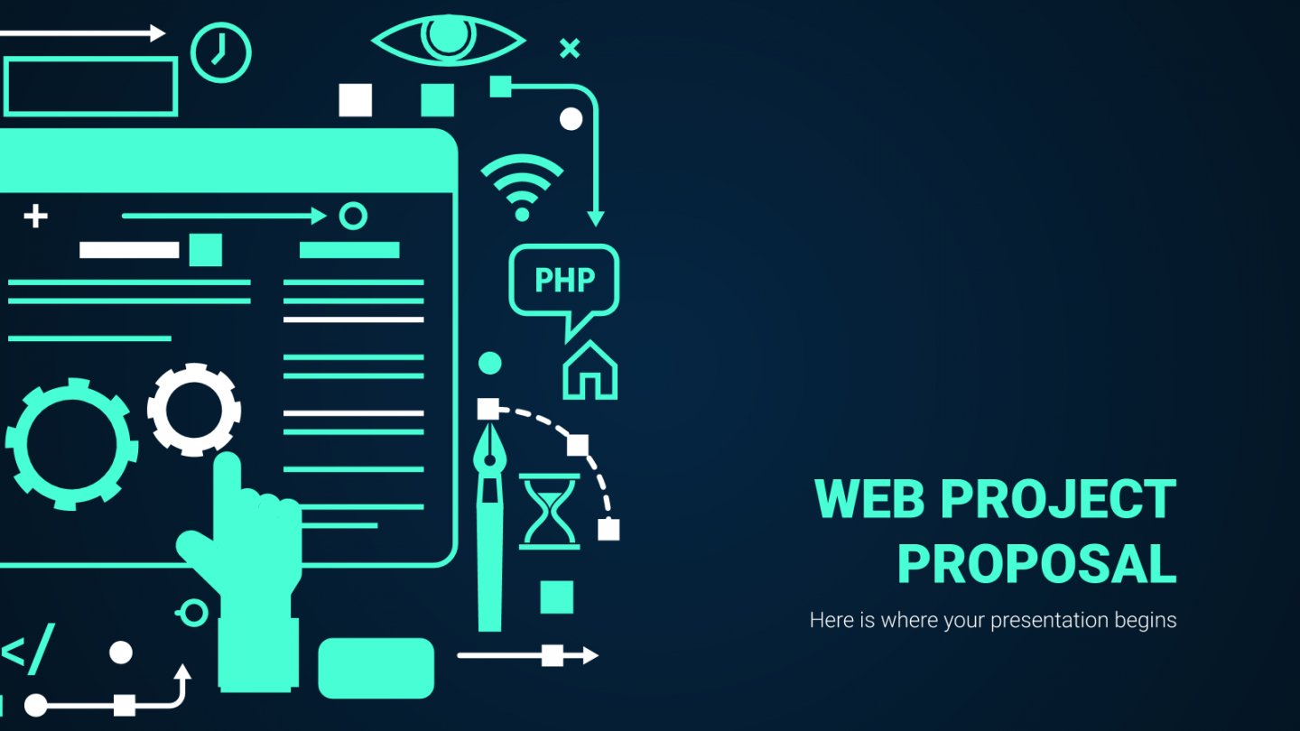 editable web project proposal google slides and powerpoint template web series proposal template pdf