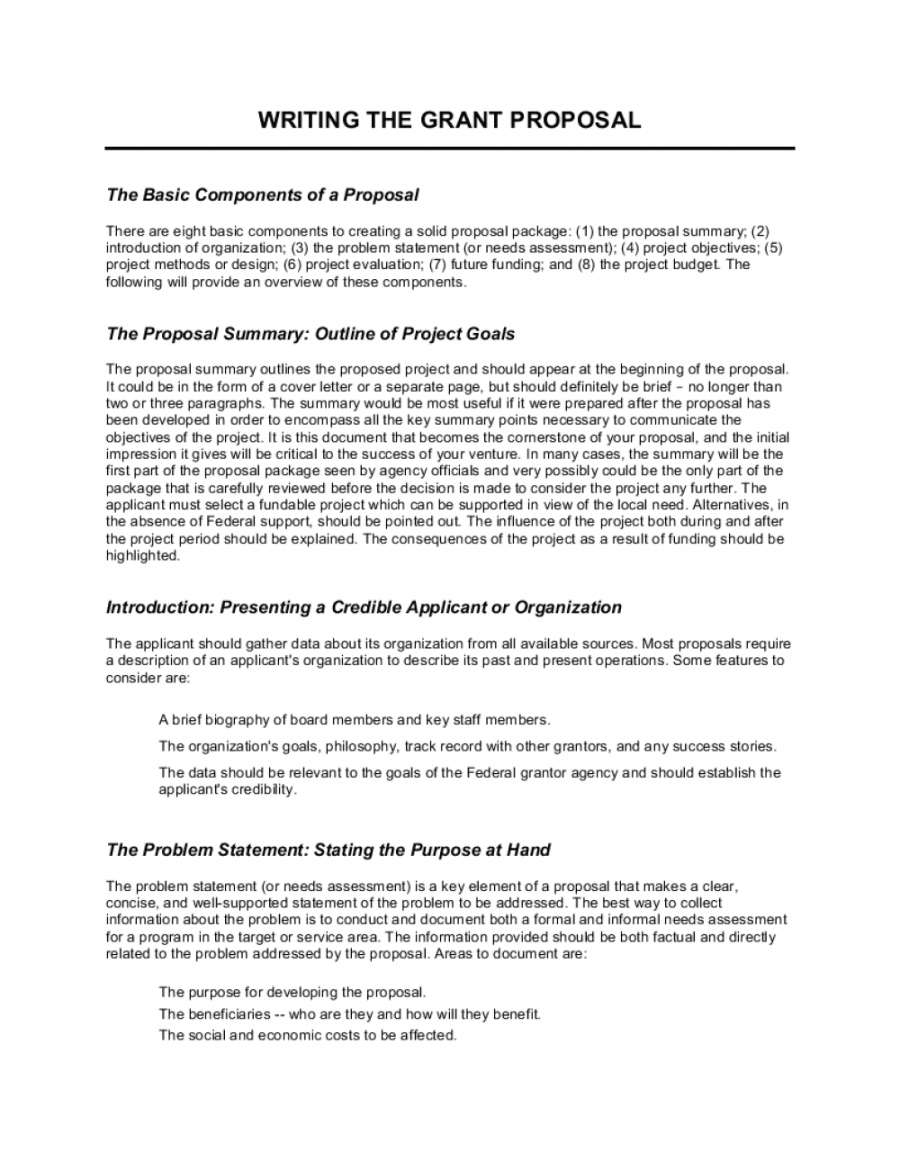 editable writing the grant proposal template  by businessinabox™ federal proposal template excel