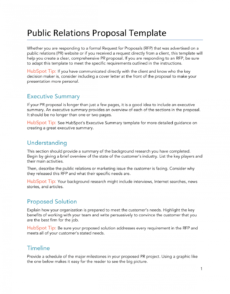 free 15 free proposals estimates & quotes templates & examples executive search proposal template example