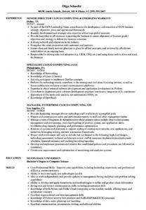 free cloud computing resume samples  velvet jobs cloud services proposal template pdf