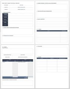 free grant proposal templates  smartsheet federal proposal template