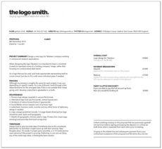 free logo design proposal template  pdf download  bonsai logo design bid proposal template word