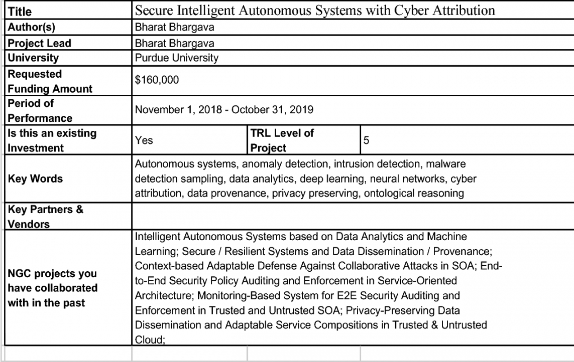 pdf ngcrc project proposal for secure intelligent machine learning project proposal template pdf