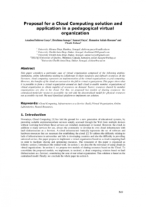 pdf proposal for a cloud computing solution and application cloud services proposal template doc