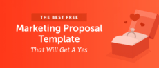 printable the best marketing proposal template that will get a yes marketing campaign proposal template example
