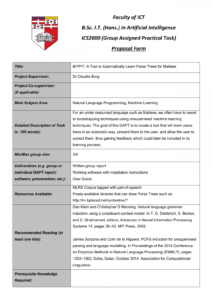 projects proposals  manualzz machine learning project proposal template doc