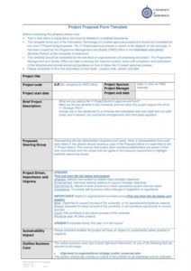 sample 43 professional project proposal templates  templatelab business project proposal template