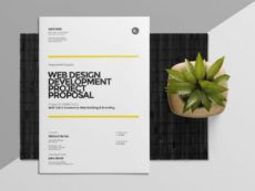 20 web design proposal template psd eps indesign and ai construction design build proposal template word