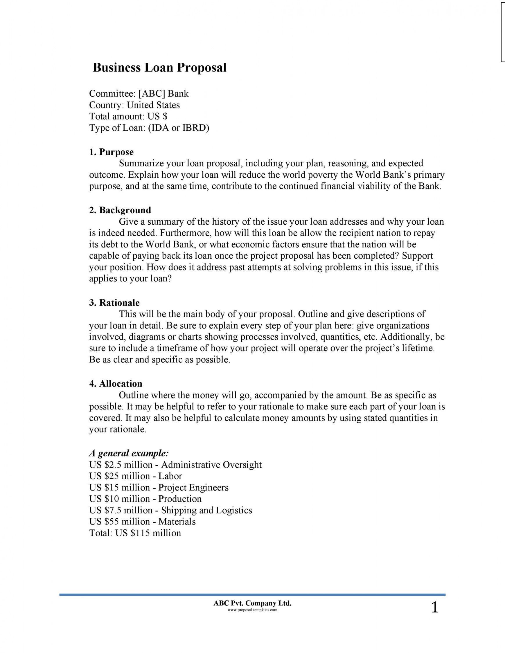 30 business proposal templates & proposal letter samples selling business proposal template example