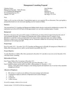39 best consulting proposal templates free  templatelab management consulting proposal template