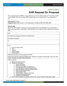 40 best request for proposal templates & examples rpf vendor request for proposal template pdf