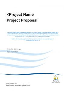 43 professional project proposal templates  templatelab project management proposal template example