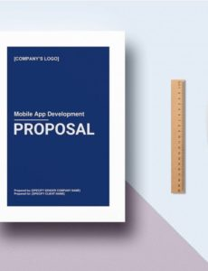 8 mobile app development proposal templates  free mobile app proposal template