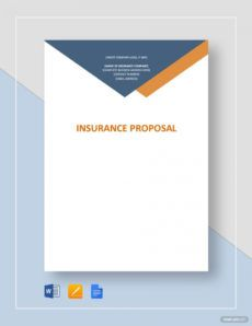 commercial insurance proposal form pdf free download commercial insurance proposal template