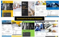 construction proposal template  get free samples construction design build proposal template example