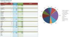 editable 12 free marketing budget templates  smartsheet marketing budget proposal template doc