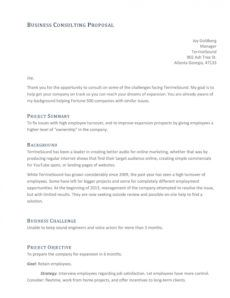 editable 39 best consulting proposal templates free  templatelab management consulting proposal template