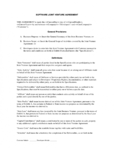 editable 5 joint venture proposal templates  proposal templates pro venture capital proposal template example
