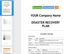 """editable business documents on twitter """"disaster recovery principal disaster recovery proposal template example"""