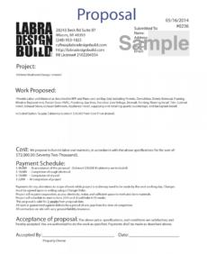 editable home design  build services  labra designbuild construction design build proposal template pdf