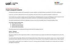 editable ual fmp project proposal template by charlie towers  issuu artist project proposal template pdf