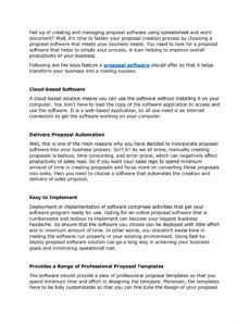 editable what are the key features a business must keep in mind while software solution proposal template pdf