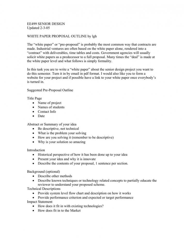 ee499 senior design updated 2305 white paper proposal white paper proposal template