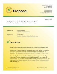 equipment maintenance and repair sample proposal  5 steps fleet management proposal template