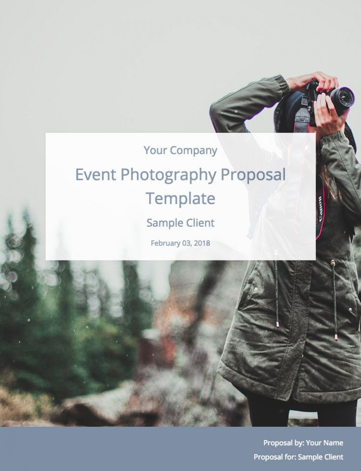 event photography proposal template free download  bidsketch wedding photography proposal template example
