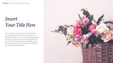 florist powerpoint proposal florist proposal template example