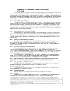 free 302recording of assignment documents patent proposal template doc