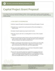 free 9 capital project proposal examples  pdf  examples capital expenditure proposal template example