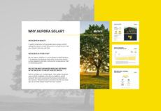 free aurora solar template on behance solar proposal template excel