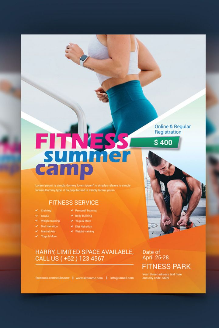 free fitness flyer template corporate identity template 81104 corporate fitness proposal template pdf