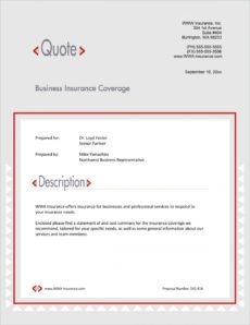 free insurance coverage services sample proposal  5 steps commercial insurance proposal template example