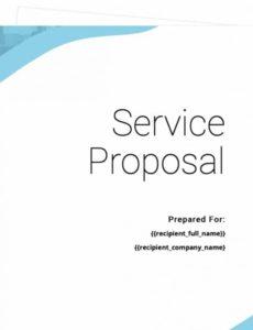 free service proposal template  free sample  proposable software as a service proposal template word