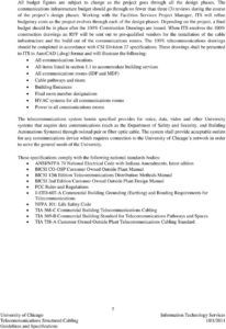 free telecommunications structured cabling guidelines and structured cabling proposal template word